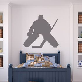 hockey wall art